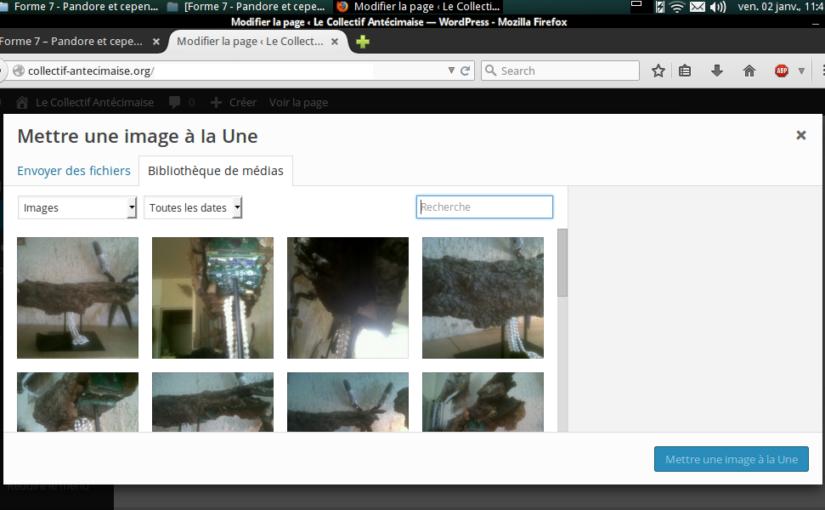 capture écran de mise à la une d'une image